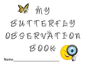 Butterfly Life Cycle Observation Journal/Book