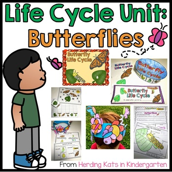 Butterfly Life Cycle Pack Including Observation Journal