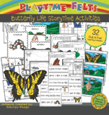 Butterfly Life Cycle PreK Printable Worksheets