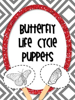 Butterfly Life Cycle Puppets