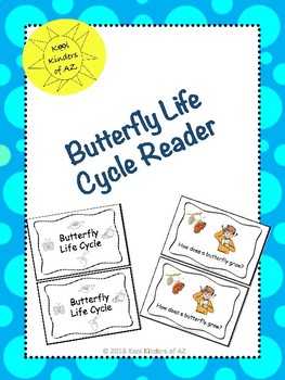 Butterfly Life Cycle Reader