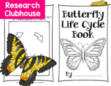 Butterfly Life Cycle Research Book