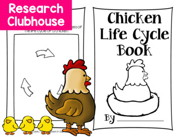 Chicken Life Cycle Research Book