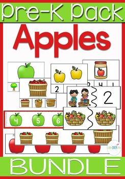 Preschool & Kindergarten Apples MEGA Pack