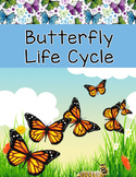 Butterfly Life Cycle Sequence Cards - Realia Photo and Clipart