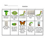 Butterfly Life Cycle Sequencing Cards