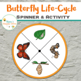 Butterfly Life-Cycle Spinner & Activity
