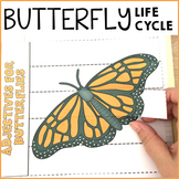 Butterfly Life Cycle Flip Book, Vocabulary Work and Science Activities