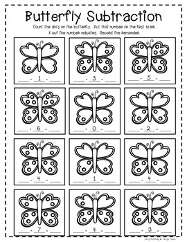 Butterfly Life Cycle Spinner and Reader