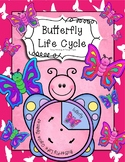Butterfly Life Cycle Literacy, Math and Craft