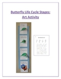 Butterfly Life Cycle Stages: Art Activity/Project