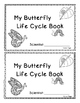 Butterfly Life Cycle Student Observation Books