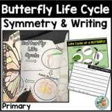 Spring Activities Kindergarten Butterfly Life Cycle & Symmetry Book / Craft