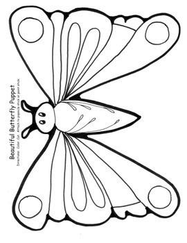 Butterfly Life Cycle The Very Hungry Caterpillar 26 pg. PA