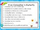 Great for End of the Year/ Butterfly Life Cycle Unit Pre-K-2