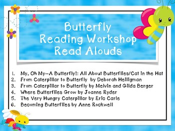 Preschool-2 Butterfly Life Cycle Unit