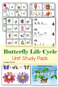 Butterfly Life Cycle Unit Study