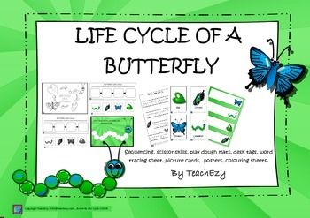 Butterfly Life Cycle Unit of Work