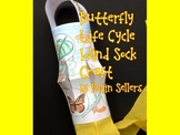 Butterfly Life Cycle {Wind Sock Life Cycle Craftivity}