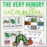 Butterfly Life Cycle and The Very Hungry Caterpillar Book