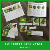 Butterfly Life Cycle in Spanish (Montessori)