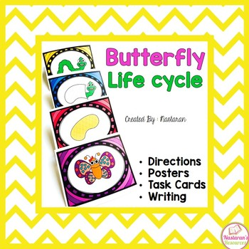Butterfly Life Cycle Activities: Posters, Cards,Writing
