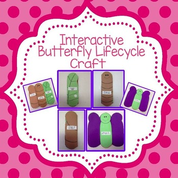 Butterfly Lifecycle Craft