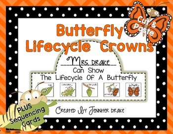 Butterfly Lifecycle Crown
