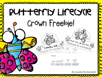 Butterfly Lifecycle Crown ~ FREEBIE!