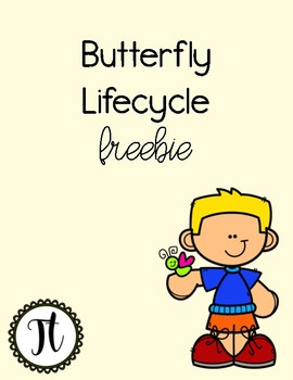 Butterfly Lifecycle Freebie