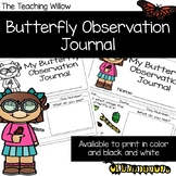Butterfly Lifecycle Observation Journal