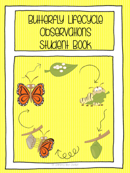 Butterfly Lifecycle Observations Writing