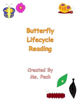 Butterfly Lifecycle Reading