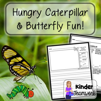 Butterfly Lifecycle and the Hungry Caterpillar Subtraction