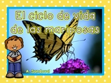 Butterfly Life Cycle in Spanish Las mariposas