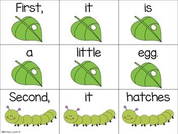 Butterfly Literacy & Math Activities