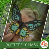 Butterfly Mask: Richmond Birdwing Butterfly