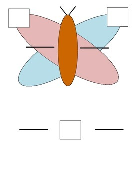 Butterfly Mat for Equivalent Fractions