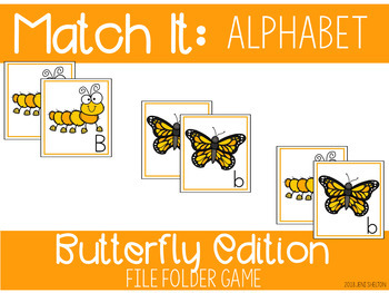 Butterfly Matching Activities for Toddlers, Preschool, and PreK