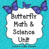 Butterfly Math & Science Unit/La mariposa unidad de cienci