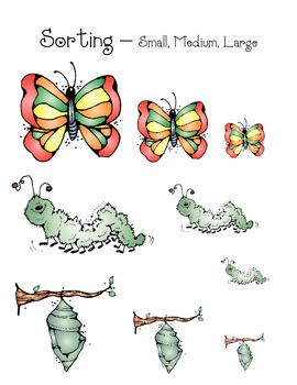 Butterfly Math Set