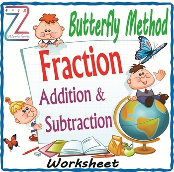 Butterfly Method Fraction Add & Subtraction