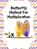 Butterfly Method of Multiplication - Standard Algorithm fo