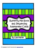 Spring Butterfly Emergent Reader and Sequencing Assessment Cards