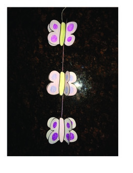 Butterfly Mobile Craftivity