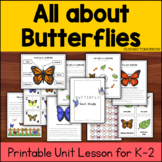 Butterfly Nature and Science Unit Study : Kindergarten, Fi