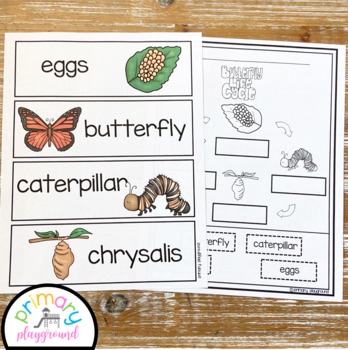 Butterfly Activities No Prep Pack Math, Literacy and Science