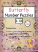 Butterfly Number Puzzles (1-10)