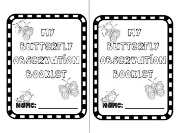 Butterfly Observation Booklet