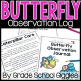 Butterfly Journal   Log The Life Cycle Of A Butterfly   Caterpillar To Butterfly